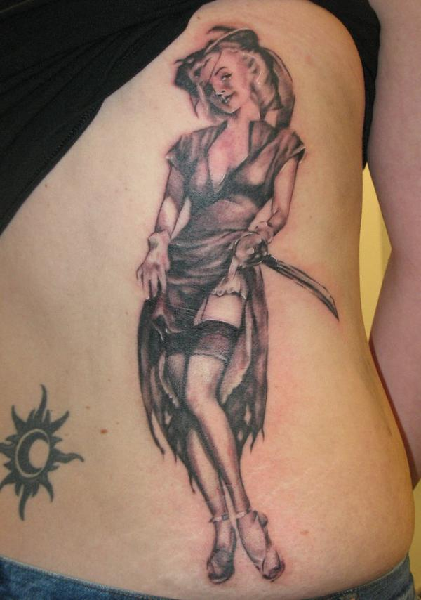 Beautiful Angle Tattoo Design