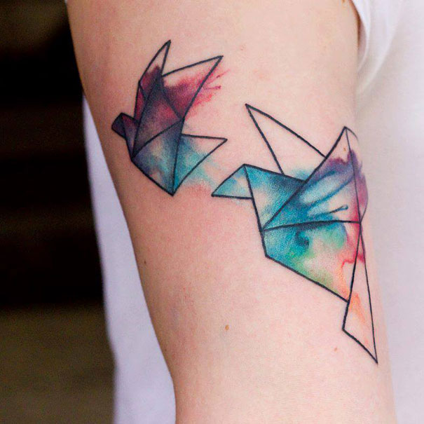 Beautiful Colorful Tattoos