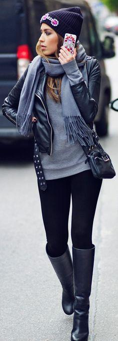 Best Women's Street Fashion for Fall