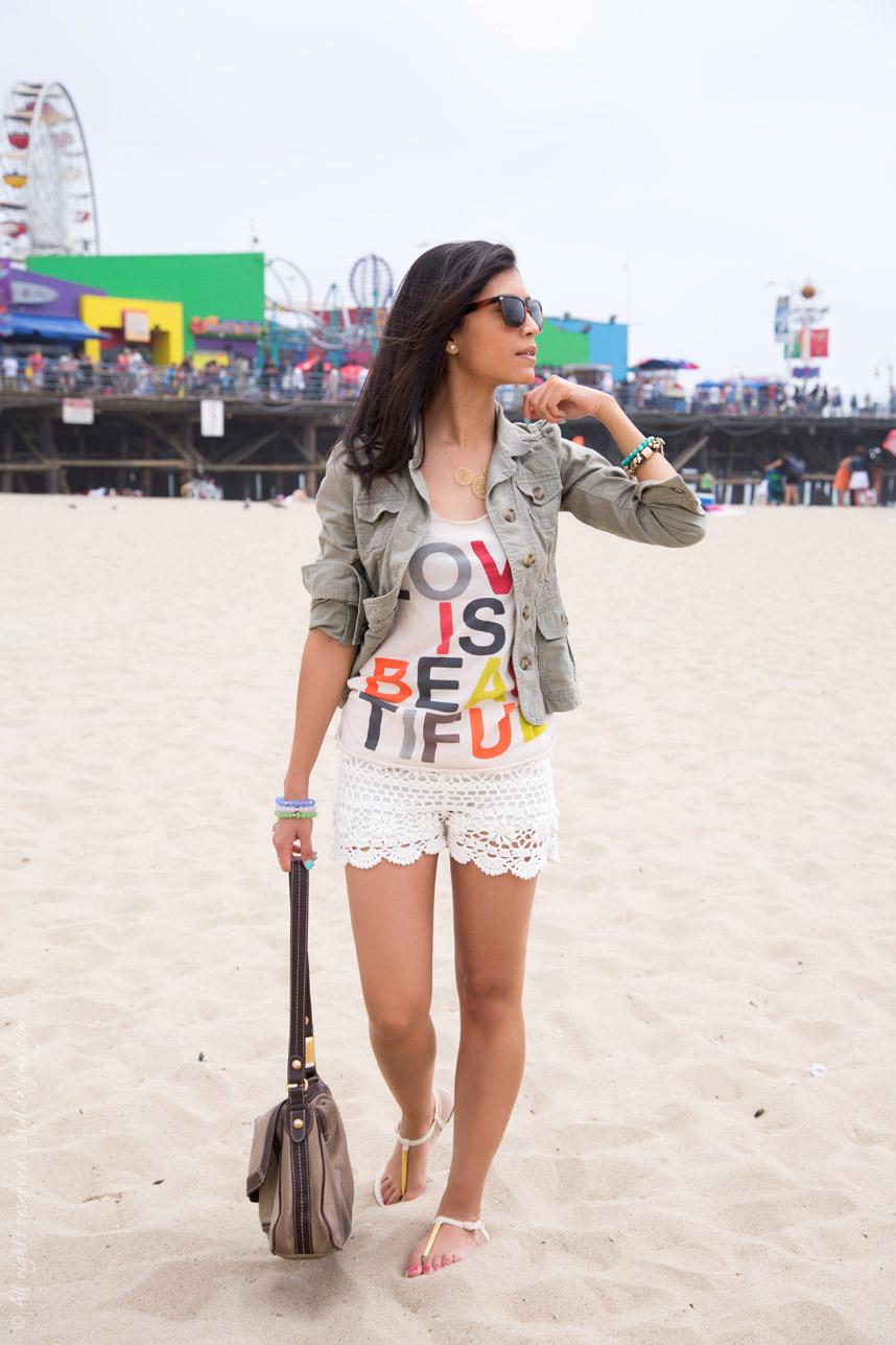 Boho Chic Summer Beach Outfit