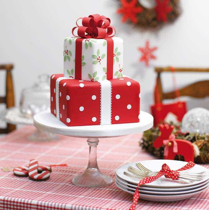 Christmas Cake Decor ideas