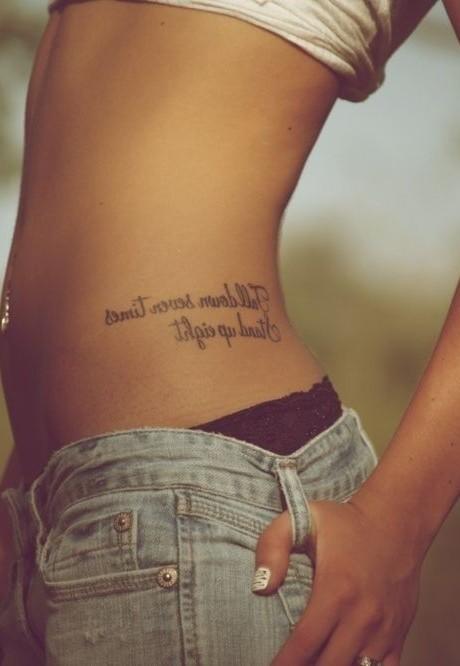 Enchanting Waist Tattoo Lower Back Tattoos For Women