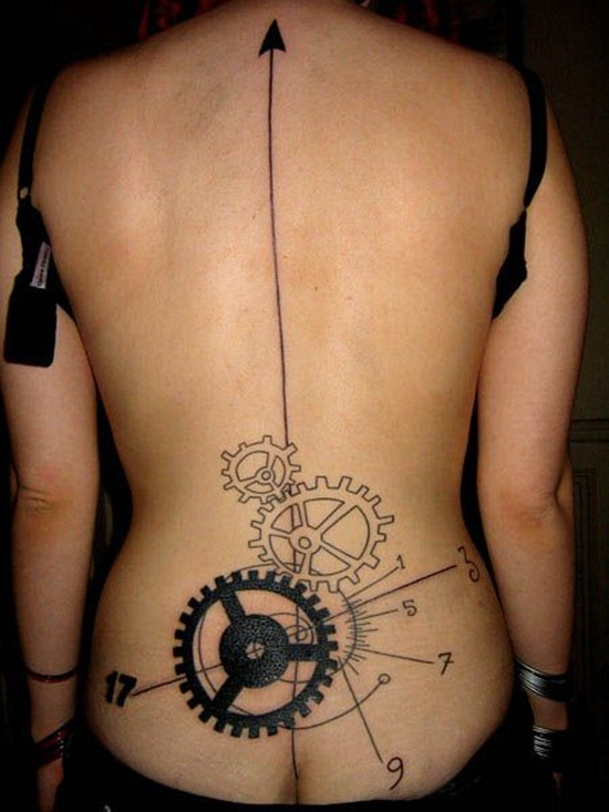 Great Ideas For Lower Back Tattoos