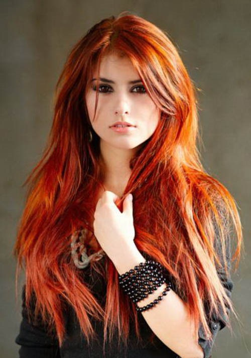 Magnificent Red Hair Hairstyles Hairstyles For Women Draintrainus