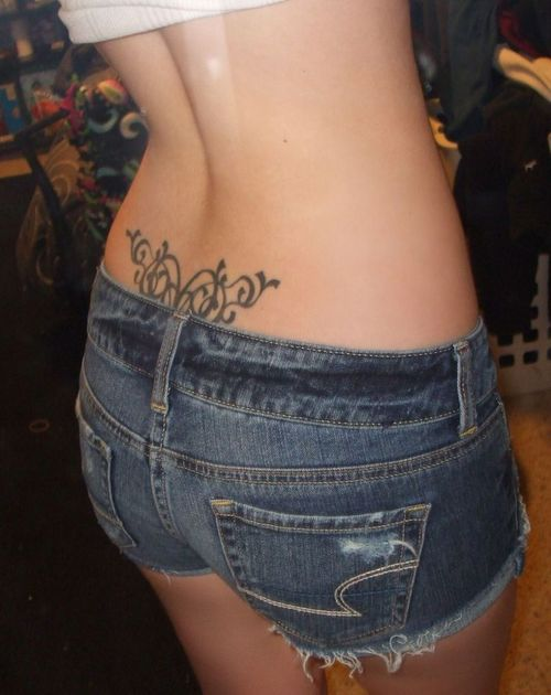 Lower Back Tattoo- Better Picture