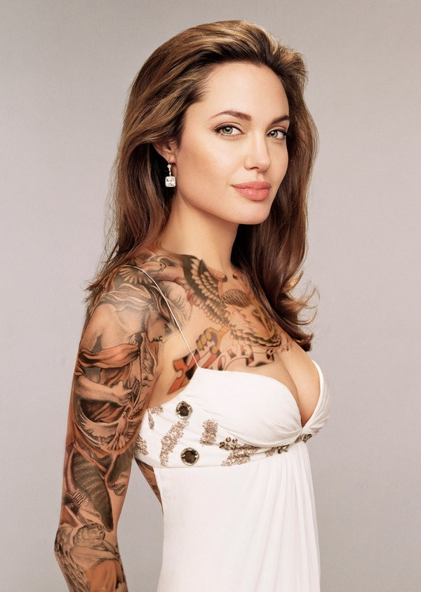 Most Beautiful Women in the World With Tattoos