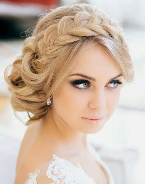 Perfect Braided Headband for Wedding Hairstyle