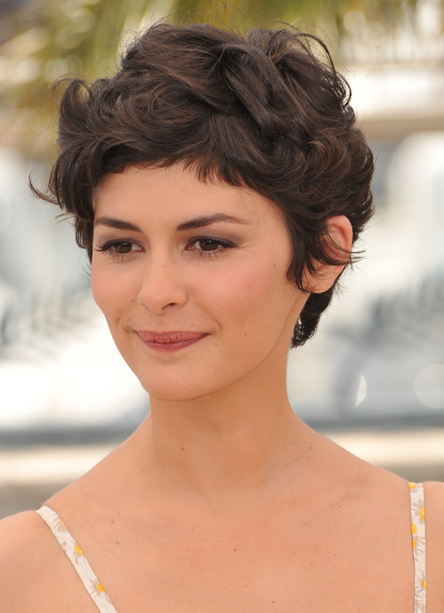 Pixie With A Tendency To A Curl