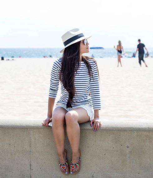 Sumer beach outfit