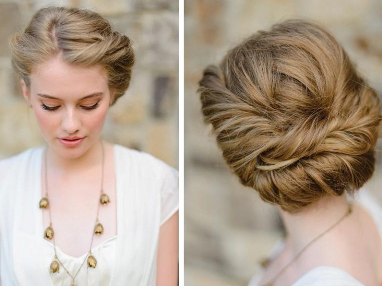 25 Classic Wedding Updos Ideas For Your Special Day