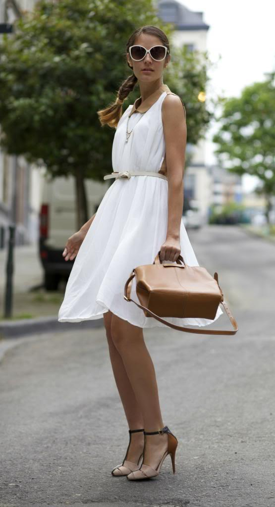 Trendy White Dresses For Summer 2016