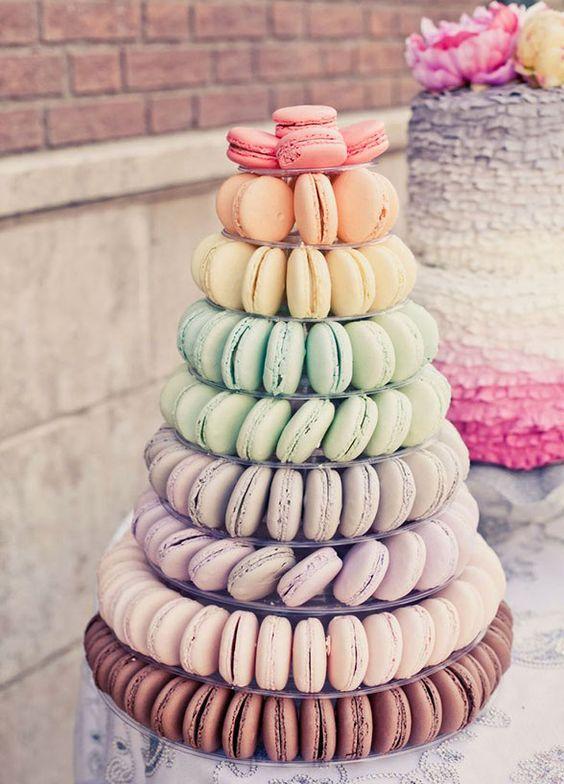 Unique Wedding Desserts Beside Cake