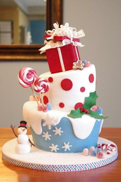 christmas cake christmas