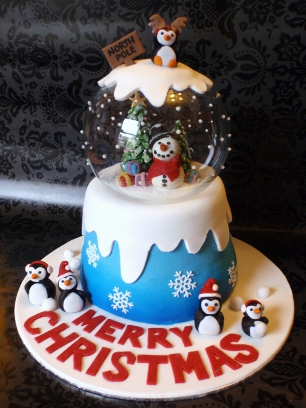 cutest Christmas cake idea