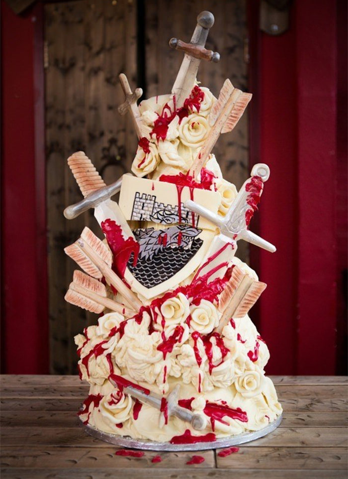 25 Unique Wedding Cakes Ideas