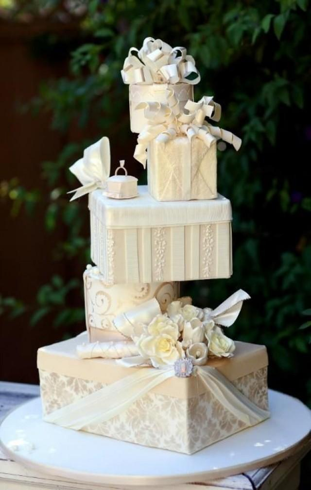 Unique Cake Designs For Wedding : 25 Unique Wedding Cakes Ideas