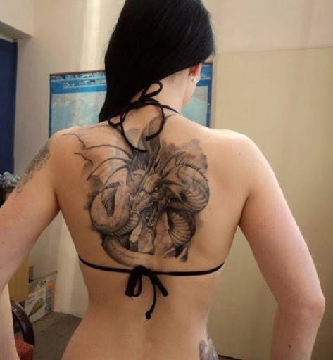 Asian Dragon Tattoos designs