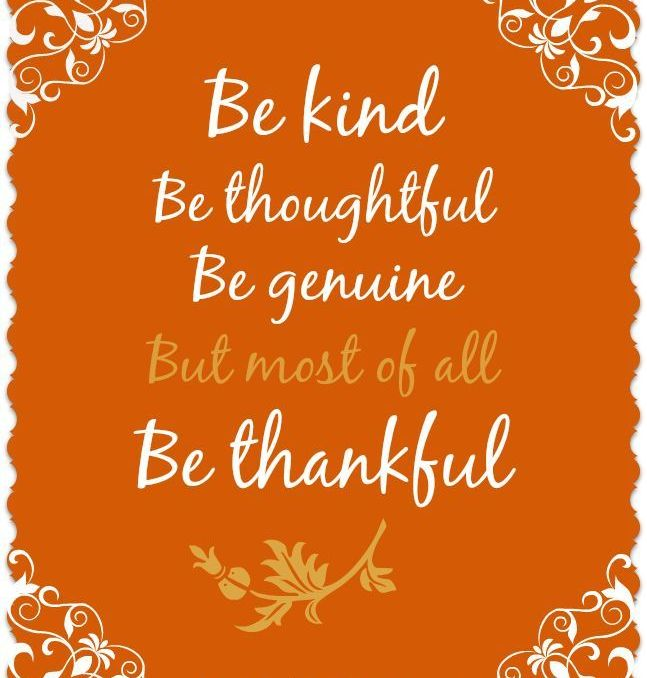 Best Thanks Giving Quotes