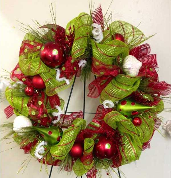 Bright-Green-Wreath