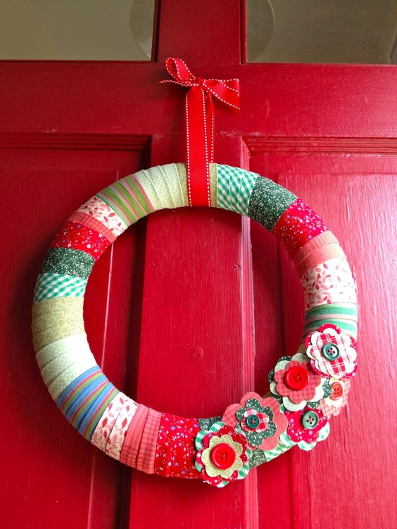 Cute and easy wreath