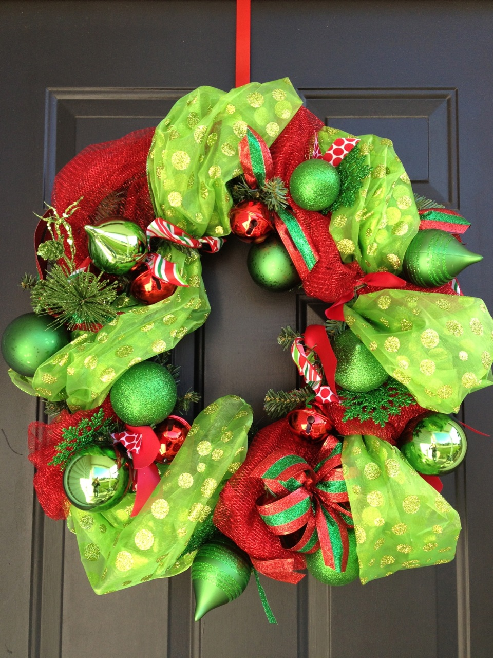 Diy Christmas Bulb Wreath Fresh