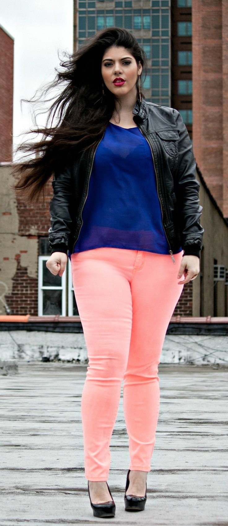 Hot Plus Size Street Style Fashion Ideas