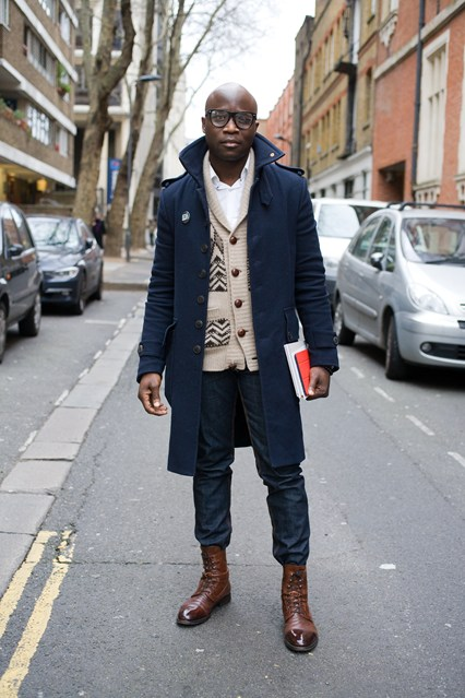 Mens Street Style Winter Fashion