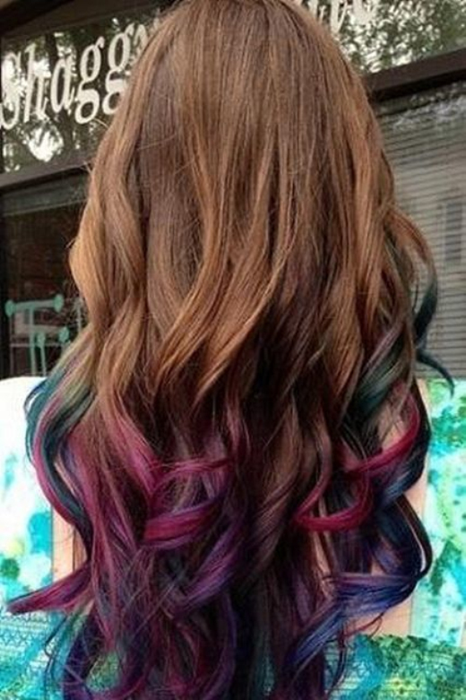 35 Bold Ombre Hair Colors The New Trend In 2016