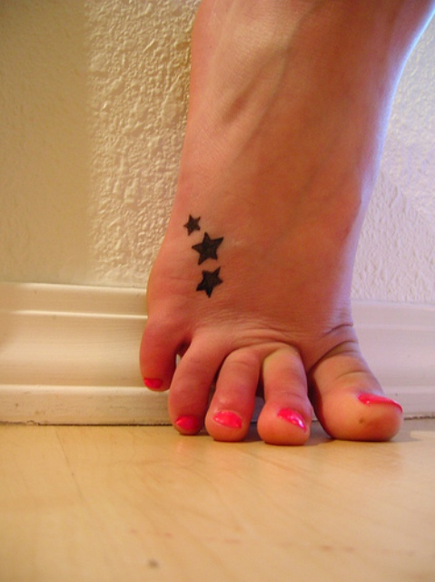 Popular Star Tattoos-Why Star Tattoo Designs