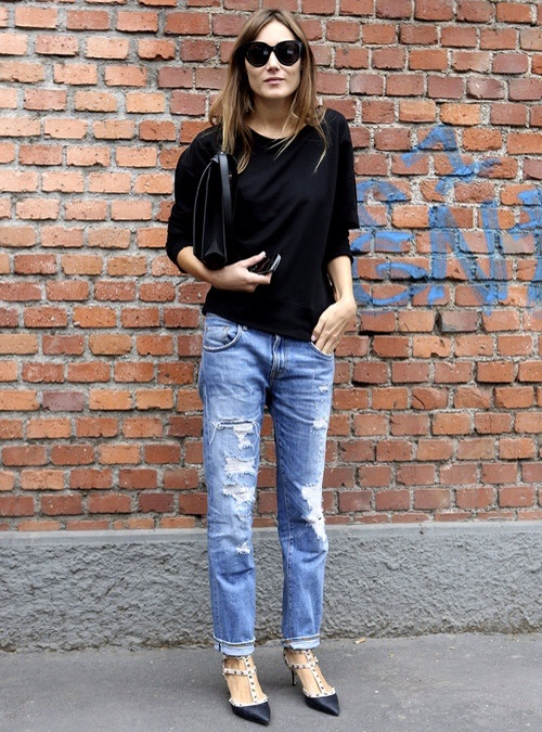 Ripped Jeans Style Inspiration