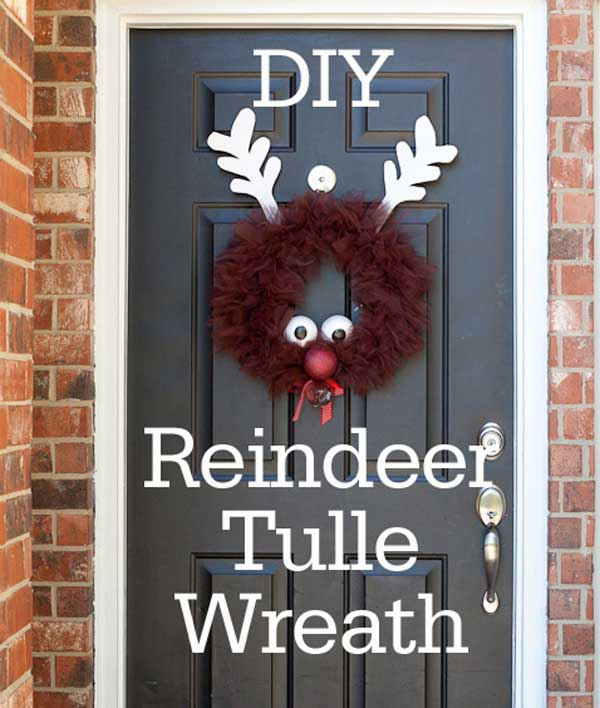 Rudolph-the-Reindeer-Tulle-Wreath