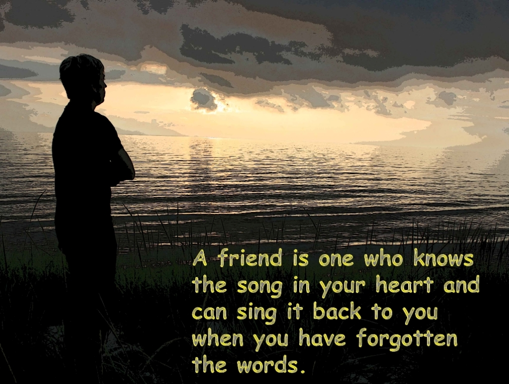 True Friend Quote For Friendship Day