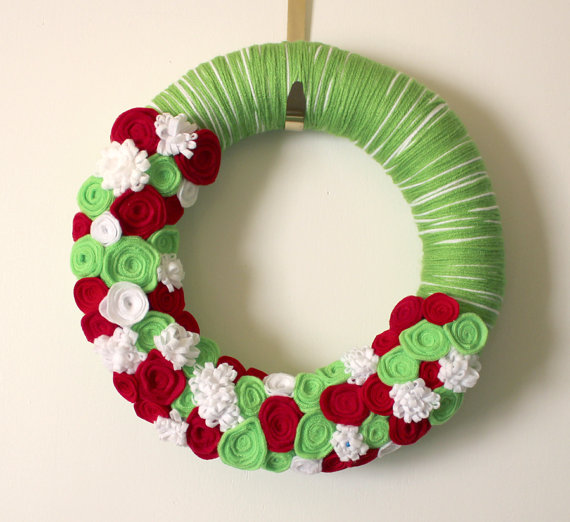 lime-green-red-yarn-wreath
