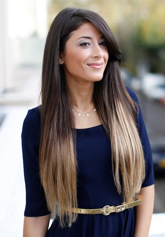 ombre-hair-color-brown-and-blonde
