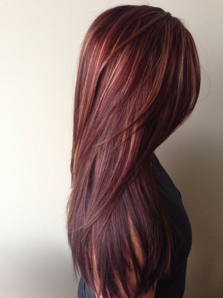 red-ombre-hair-gold-highlights