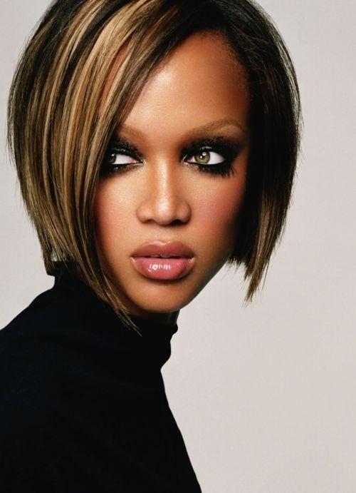Short Bob Haircut for Black Women