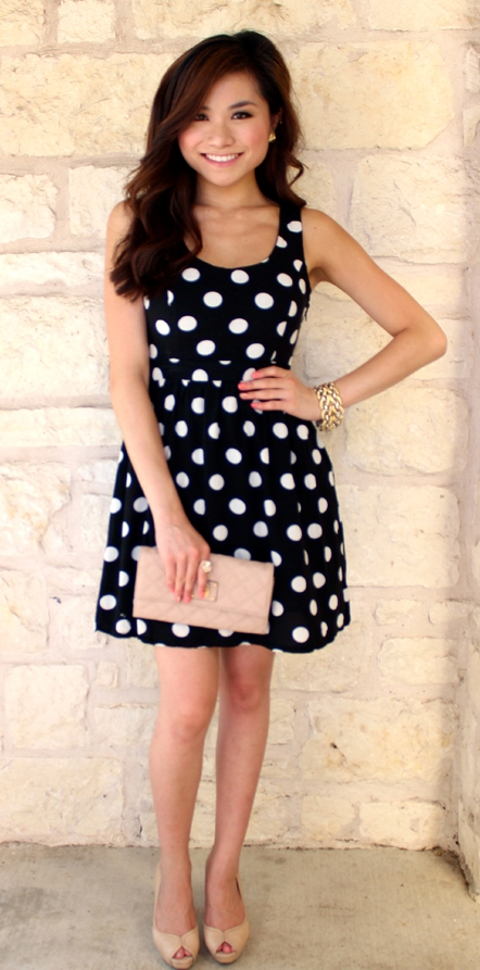 Classy Polka Dot Outfits