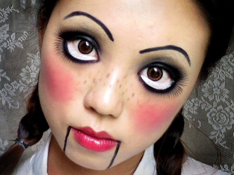 10 Easy Halloween Makeup Ideas For Women With Tutorial - Very Easy Halloween Makeup
