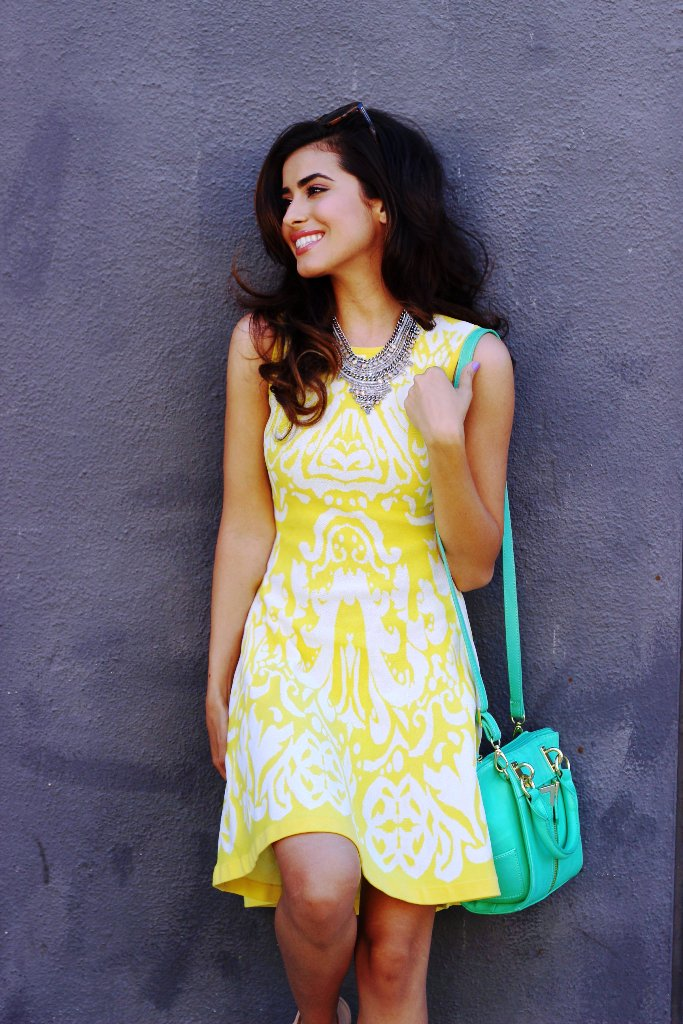 1-yellow colored outfit ideas for women