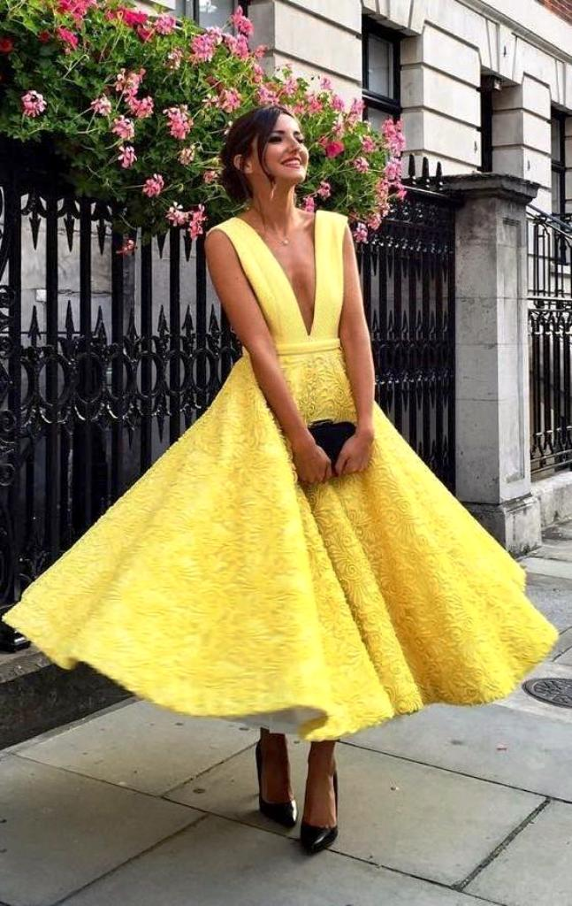 10-yellow colored outfit ideas for women