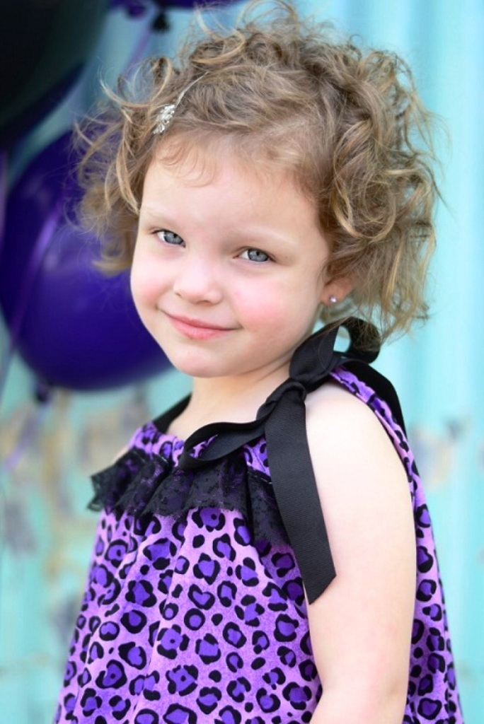 11. Curly Hairstyle For Kids