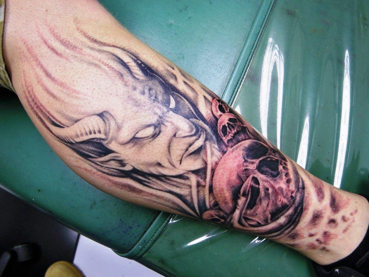 14-devil tattoos ideas