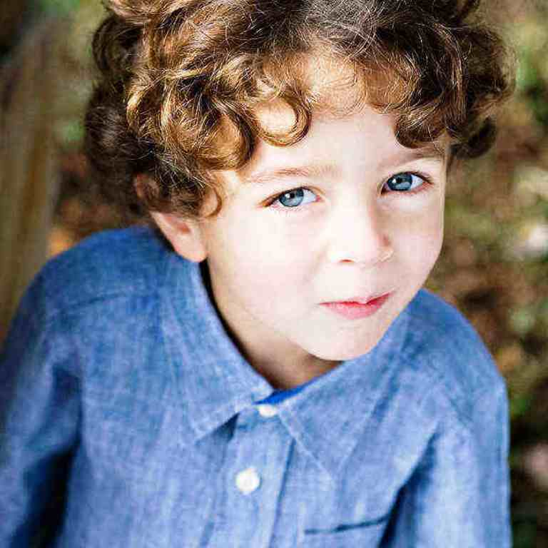 14. Curly Hairstyle For Kids