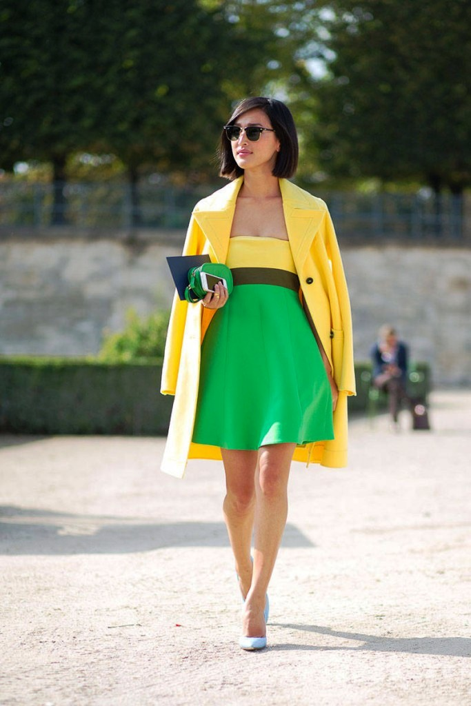 15-yellow colored outfit ideas for women