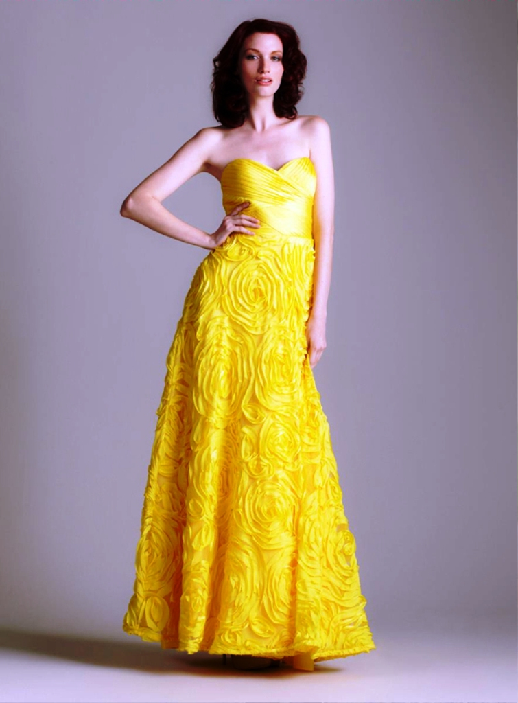16-yellow colored outfit ideas for women