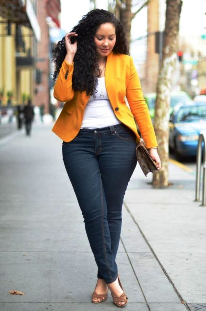 17-yellow colored outfit ideas for women