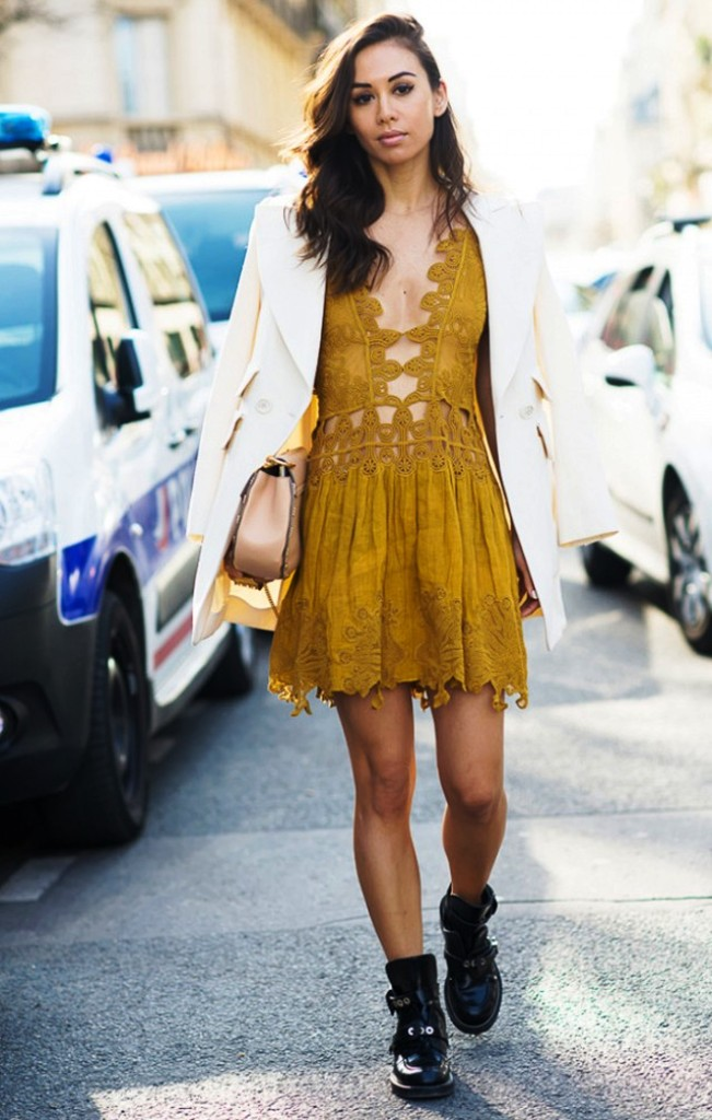 18-yellow colored outfit ideas for women