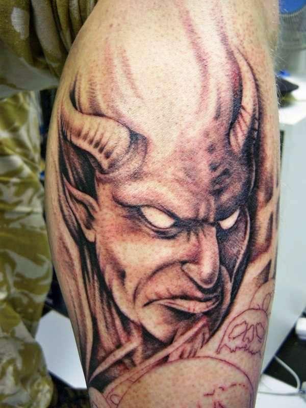2-devil tattoos ideas