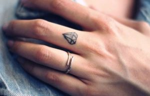 25 Amazing Tiny Finger Tattoos Ideas