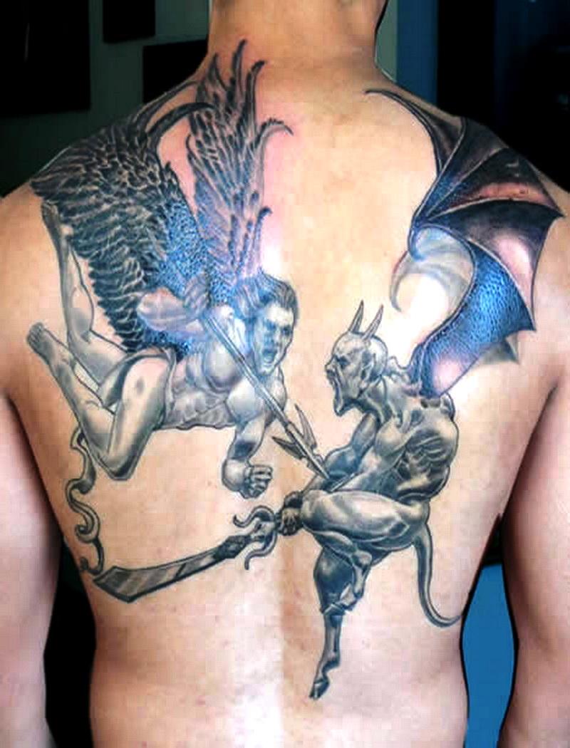 4-devil tattoos ideas